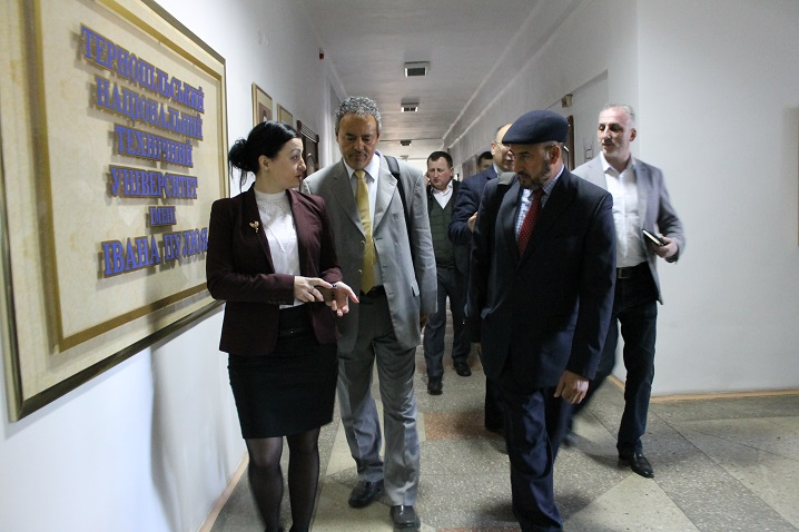 The visit of the representatives of Libyan Company «Consultation and Development Group»