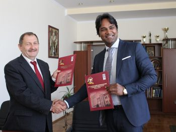 TNTU develops the cooperation with Indo-European Education Foundation