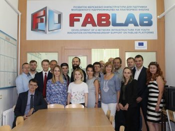 TNTU hosted a working meeting in the framework of the European project FabLab