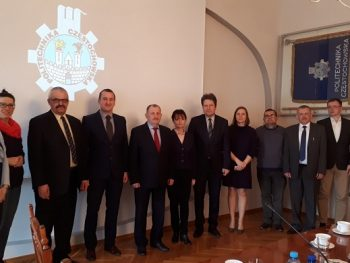 The delegation of TNTU had the meeting with Polish partners