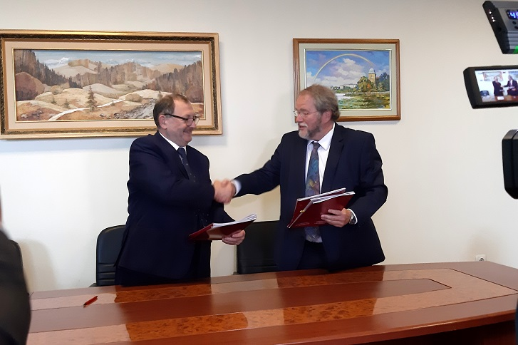 Rector of the University of Applied Sciences Schmalkalden visited TNTU with working visit
