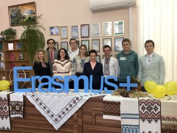 TNTU has joined the World Wide Flash Mob of the Erasmus+ Programme #ErasmusDays 2019