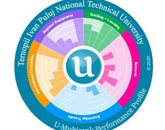 TNTU is highly rated in the world universities ranking of U-Multirank